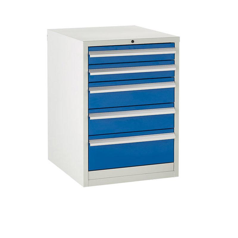 Euroslide Cabinet 600mm - 2 x 100mm, 2 x 150mm, 1 x 200mm Drawer