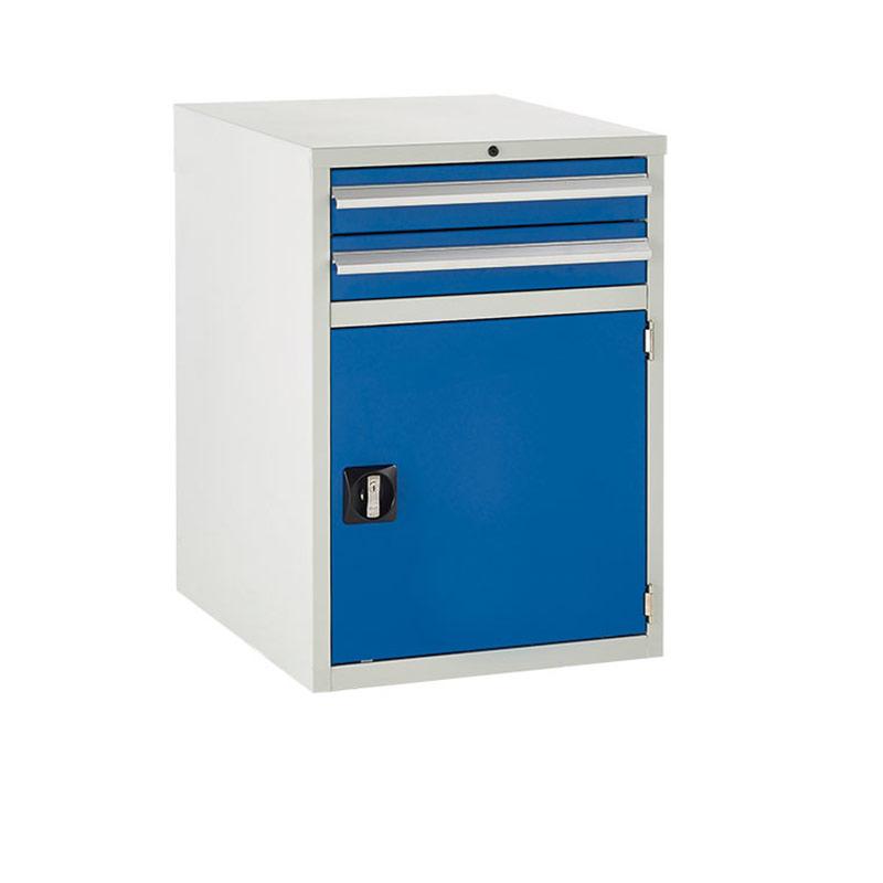 Euroslide Cabinet 600mm - 2 x 100mm Drawers, 1 x 500mm Cupboard
