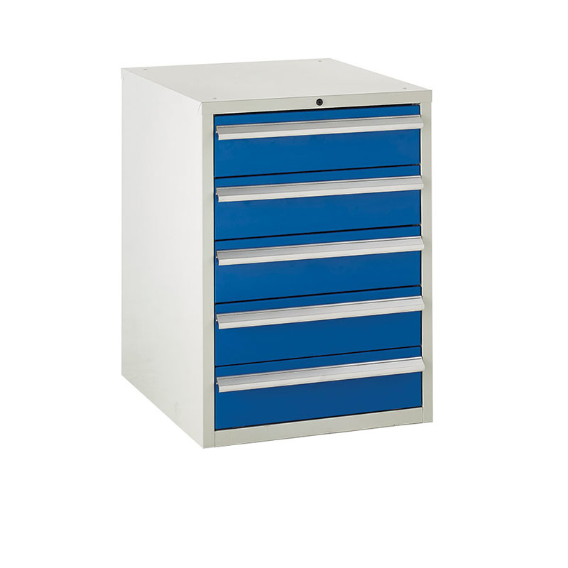 Euroslide Cabinet 600mm - 5 x 150mm Drawers