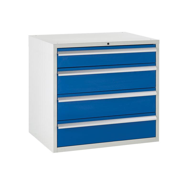 Euroslide Cabinet 900mm - 1 x 150mm, 3 x 200mm Drawers