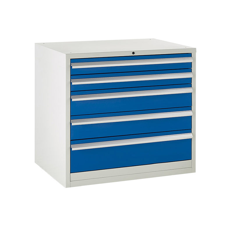 Euroslide Cabinet 900mm - 2 x 100mm, 2 x 150mm, 1 x 200mm Drawer