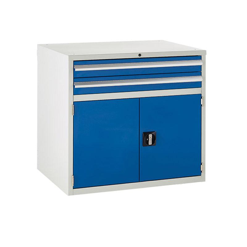 Euroslide Cabinet 900mm - 2 x 100mm Drawers, 1 x 500mm Cupboard