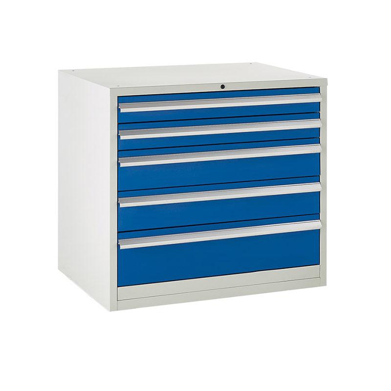 Euroslide Cabinet 900mm - 4 x 100mm, 1 x 150mm, 1 x 200mm Drawer