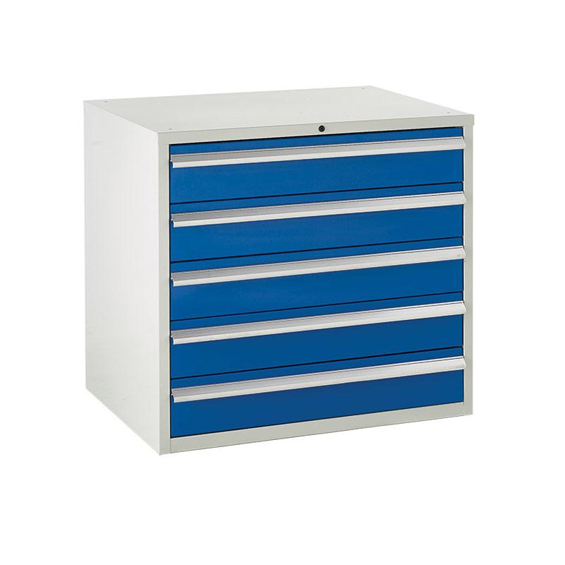 Euroslide Cabinet 900mm - 5 x 150mm Drawers
