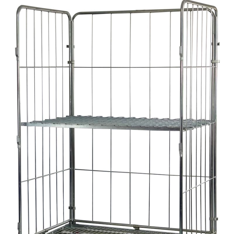 Extra Shelf for Jumbo Demountable Roll Containers
