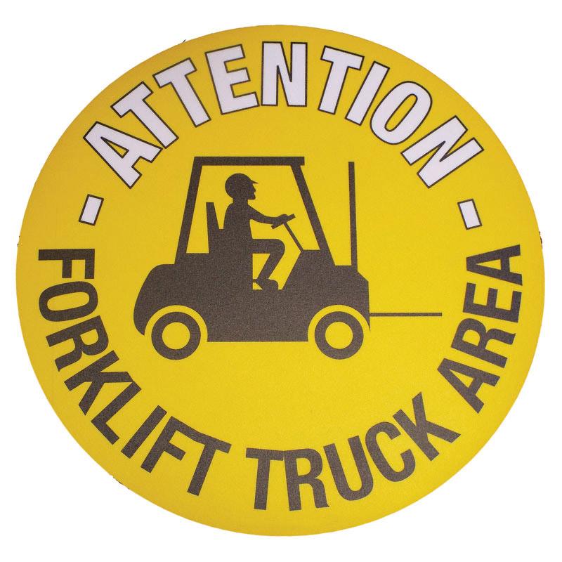 Floor Marker 430mm dia. Forklift Truck Area