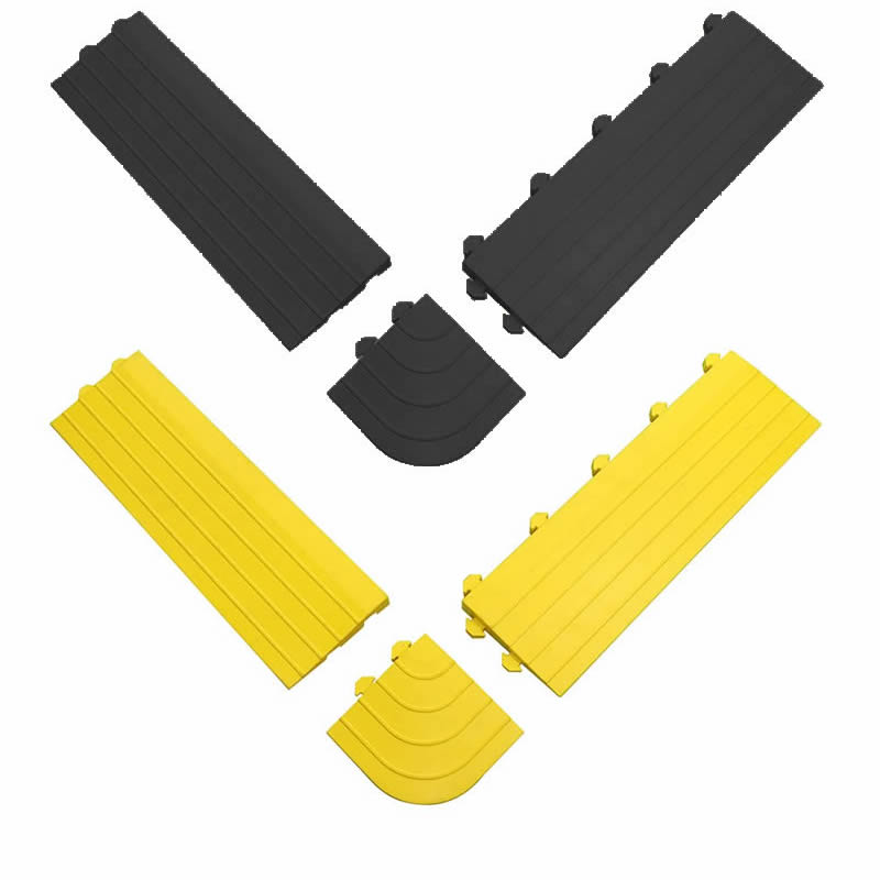 Fatigue-Lock Tile Edging