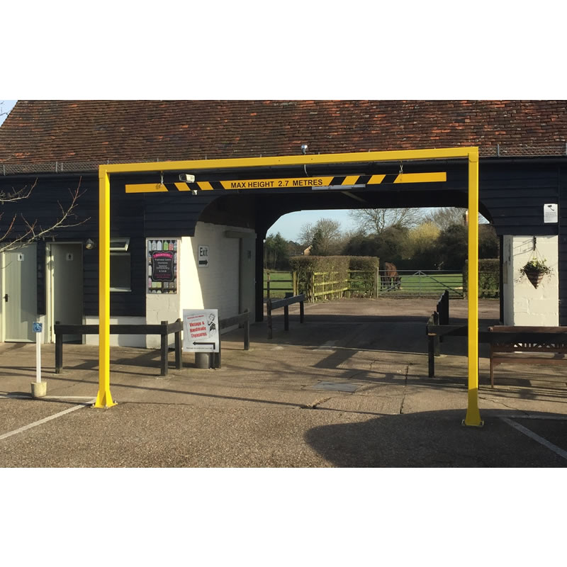 Fixed Height Restriction Barriers