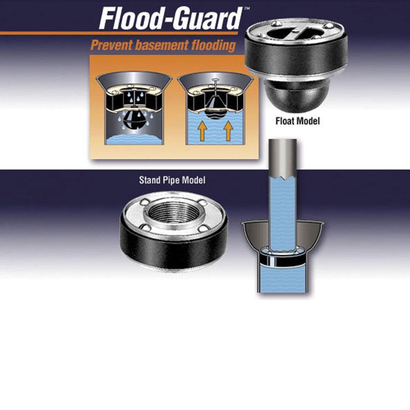 Flood Guard Drain Sealers
