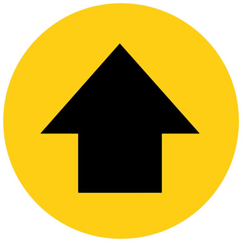 Floor Marker - Arrow, graphic