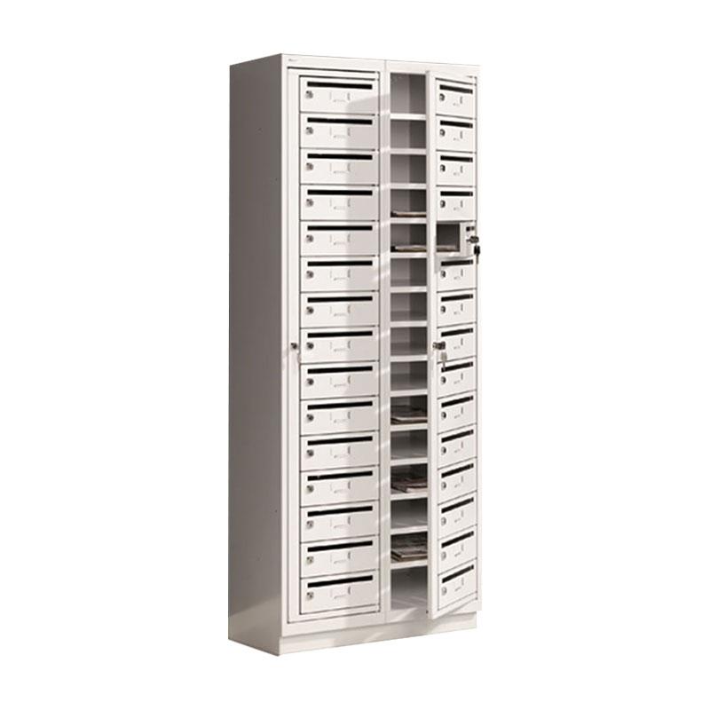 Floor Standing Post Locker - 15 Boxes
