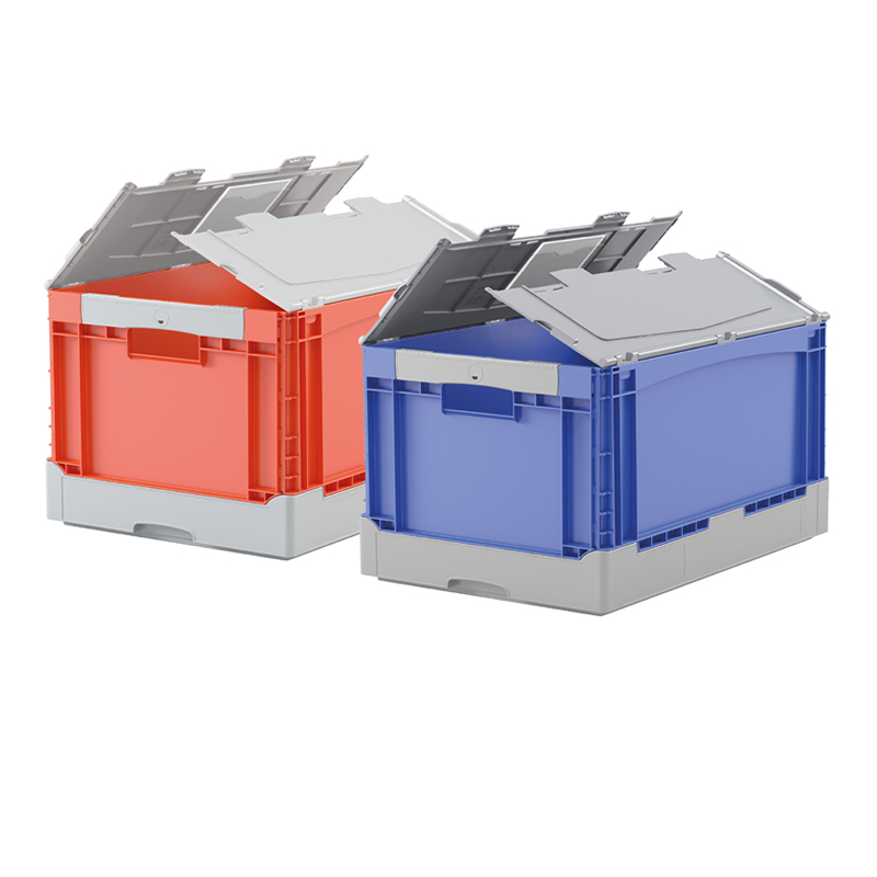 Folding Euro Containers with Lid