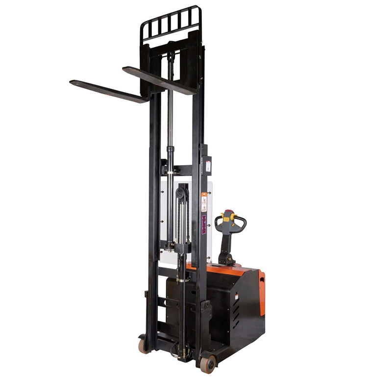 Fully Powered Counterbalance Stacker - 600Kg - 1400mm Height
