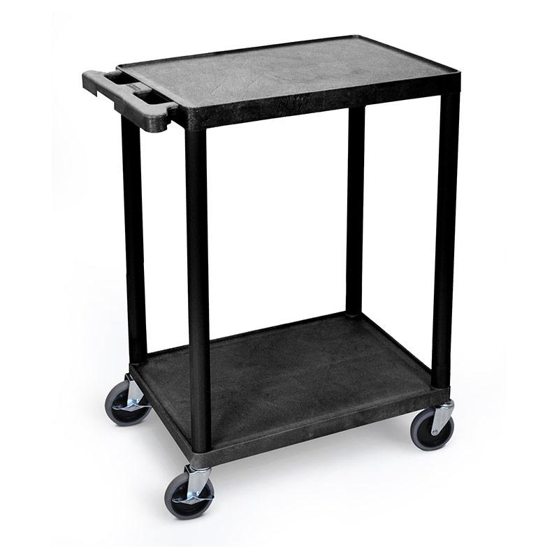 Service Trolley - 2 Flat Shelves - 610mm x 458mm