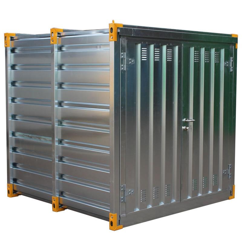 Galvanised Secure Chemical Storage Unit - 415 Litre Sump