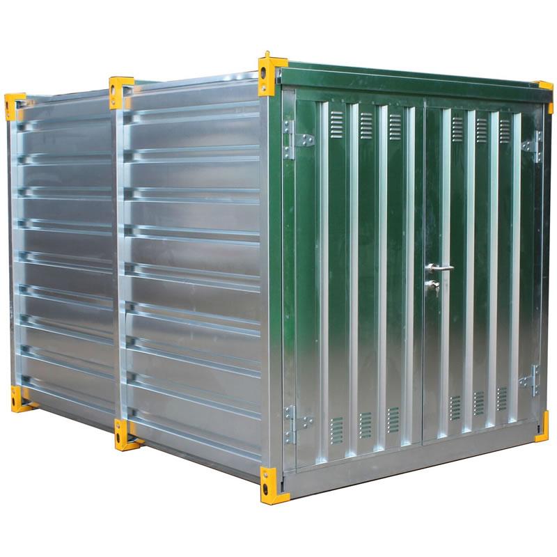 Galvanised Secure Chemical Storage Unit - 560 Litre Sump
