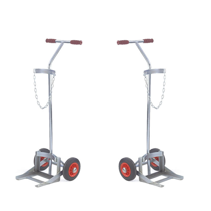 Gas Cylinder Trolleys with Zinc Plated Frame