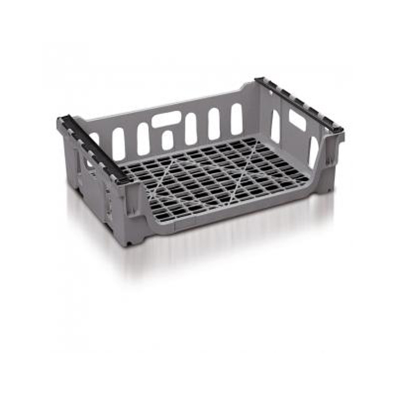 Grey Bread Basket With Bale Arms - 65 Litres