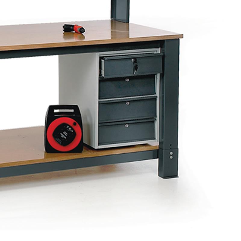 Cupboard Unit for Heavy Duty Modular Bench