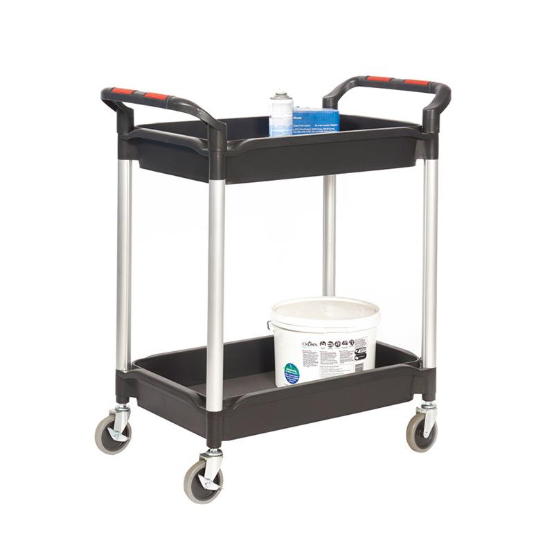 Plastic Deep Tray Trolley - 2 Trays