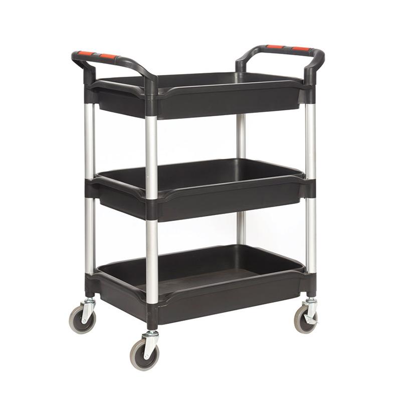 Plastic Deep Tray Trolley - 3 Trays