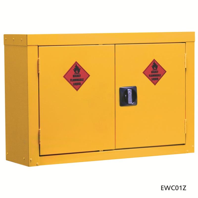 Hazardous Wall Cupboard - 570mm(h) x 850mm(w) x 255mm(d)