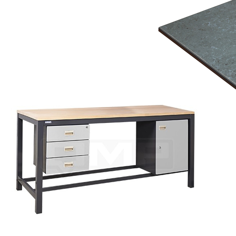 Heavy Duty Workbenches - Linoleum Worktop