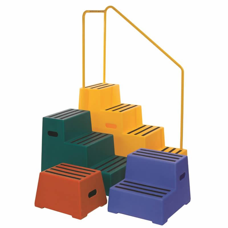 Heavy Duty Plastic Safety Steps