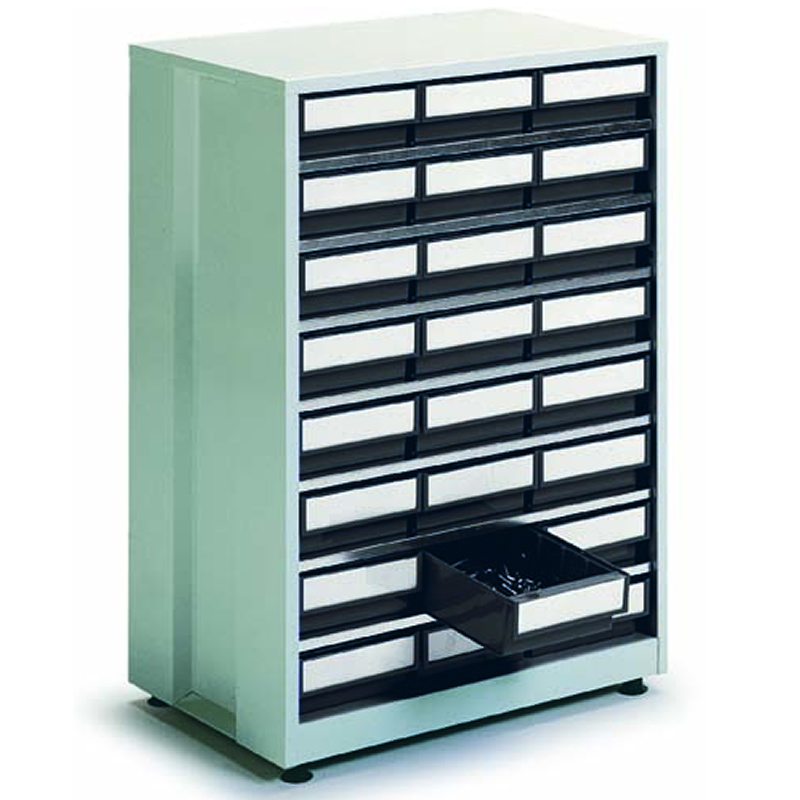 High Density Storage Cabinet - 24 Grey Bins