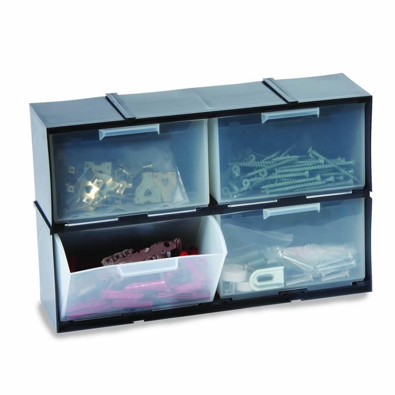 Interlocking Drawer Cabinet - 4 Drawers