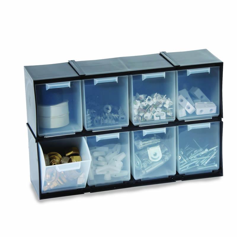 Interlocking Drawer Cabinet - 8 Drawers