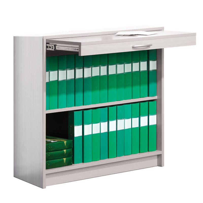 Mail Sorting System - Cupboard Without Doors - White