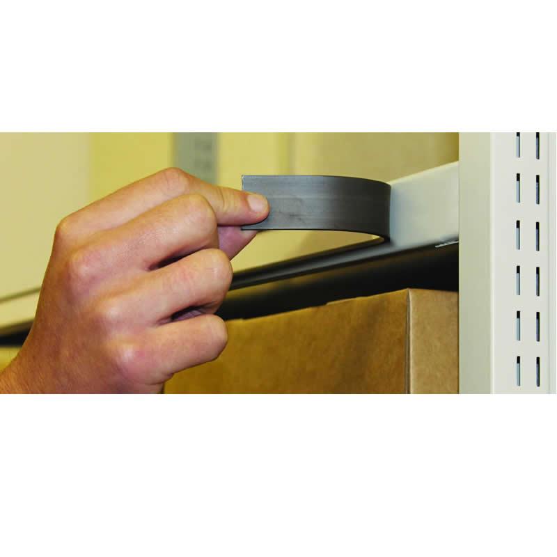 Magnetic Label Holders - 500mm Length - Packs of 20