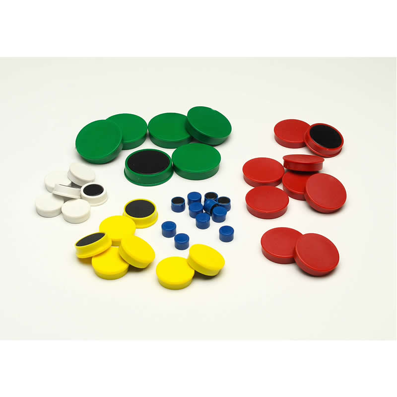 Memo Magnets - 10mm Diameter - Packs of 100
