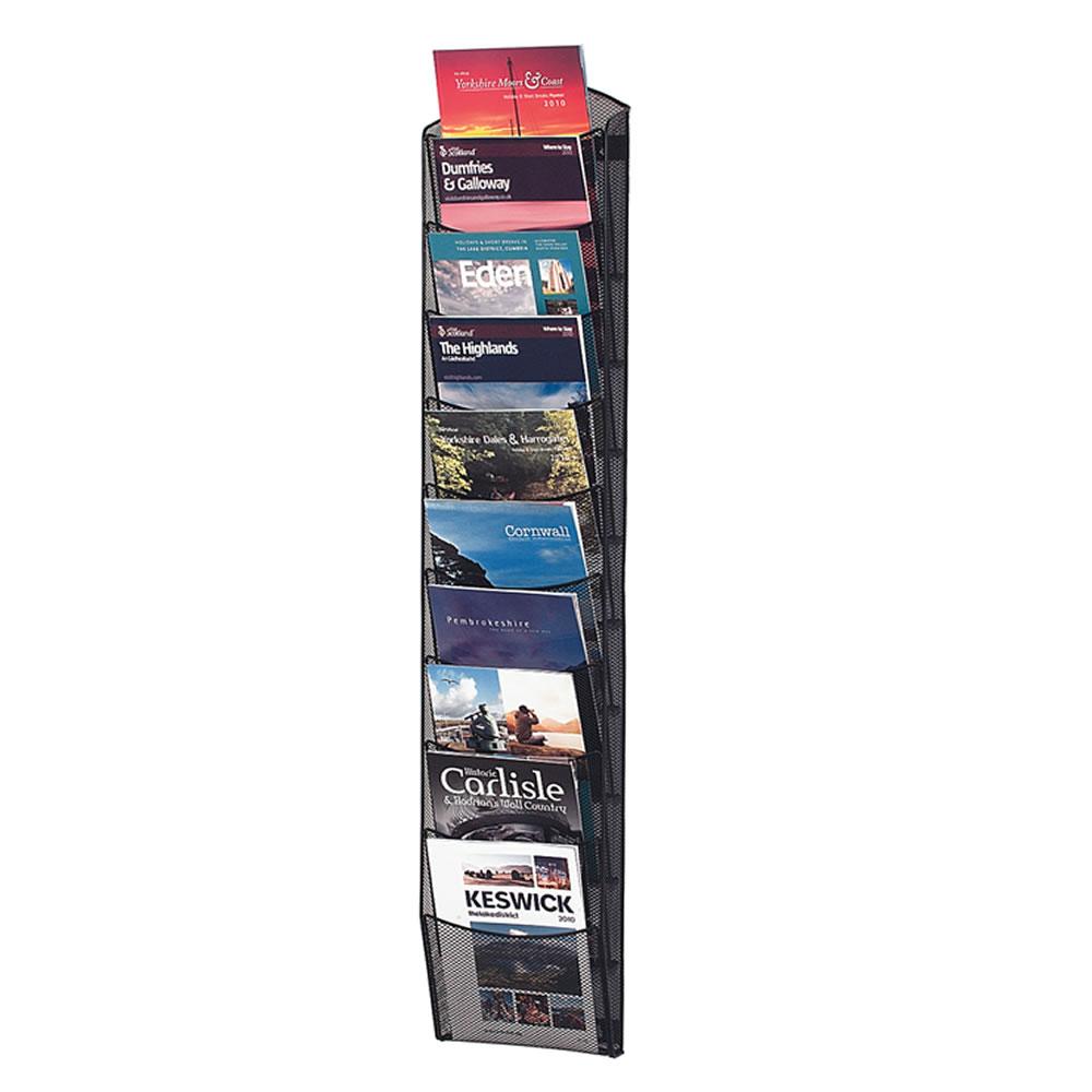 Mesh Literature Display Racks