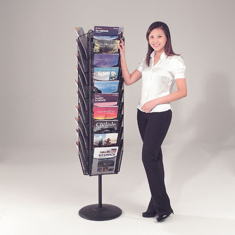 Mesh Literature Display - 30 x A4 Stand