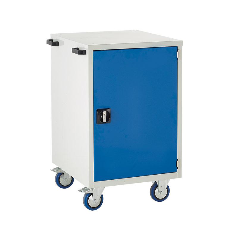 Mobile Euroslide Cabinet - 1 x 750mm Cupboard