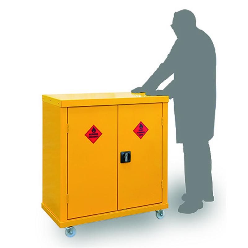 Mobile Hazardous Substance Cabinets