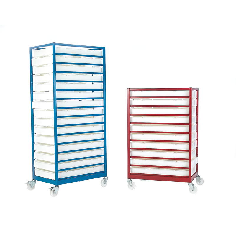 Mobile Tray Racks - Painted