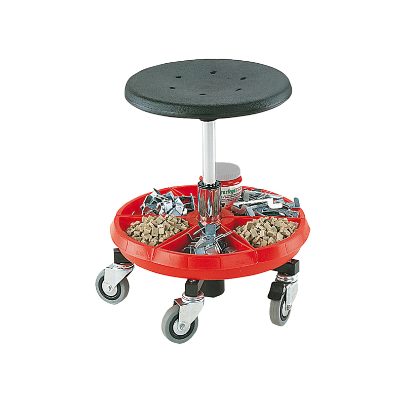 Bott Low Mobile Work Stool with 1 Tray