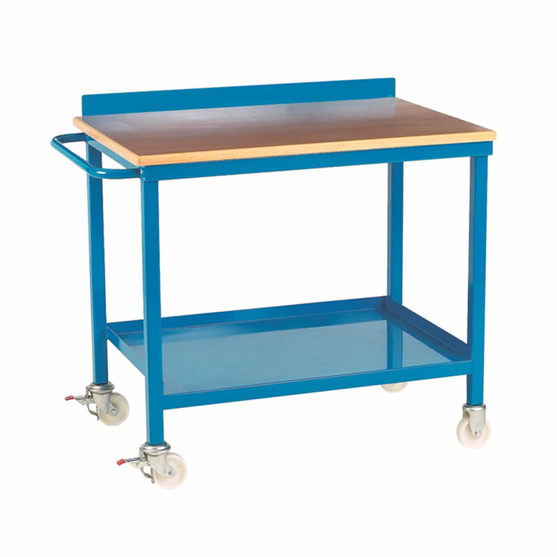 Mobile Workbench - Plywood Top