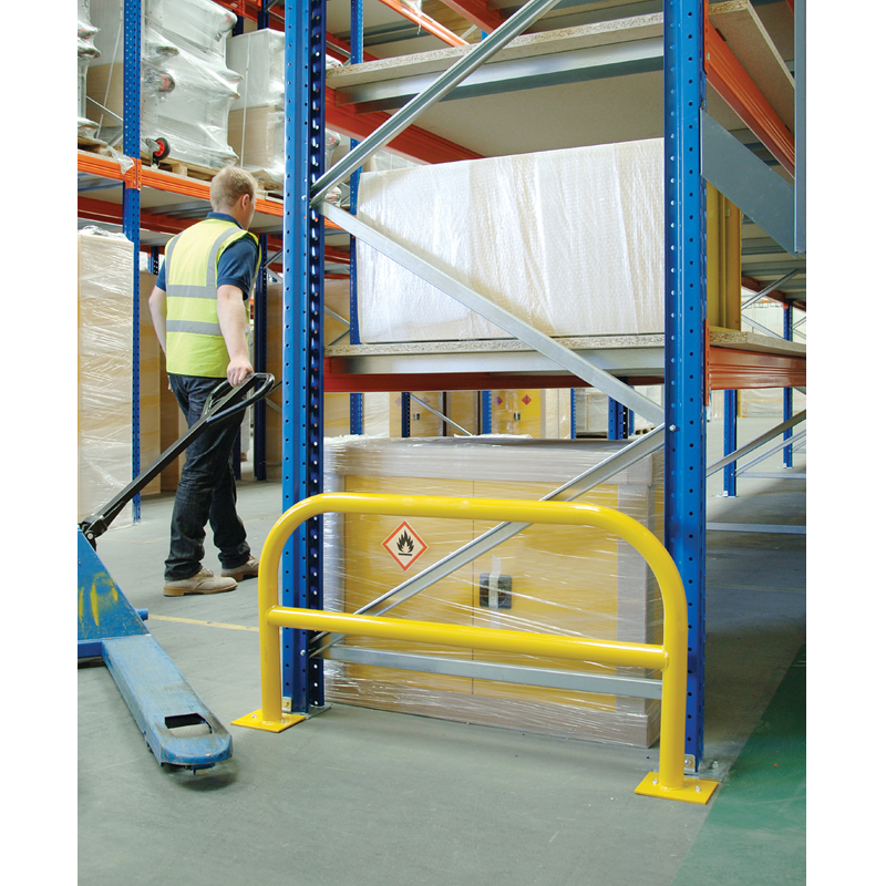 Modular Rack End Protection  Barriers