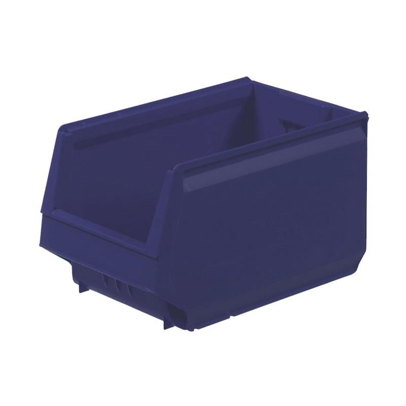 Modular Storage Bins - Blue - 150mm(h) x 230mm(w)