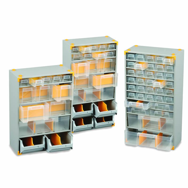 Multi-Drawer Metal Plus Cabinets - Packs of 2