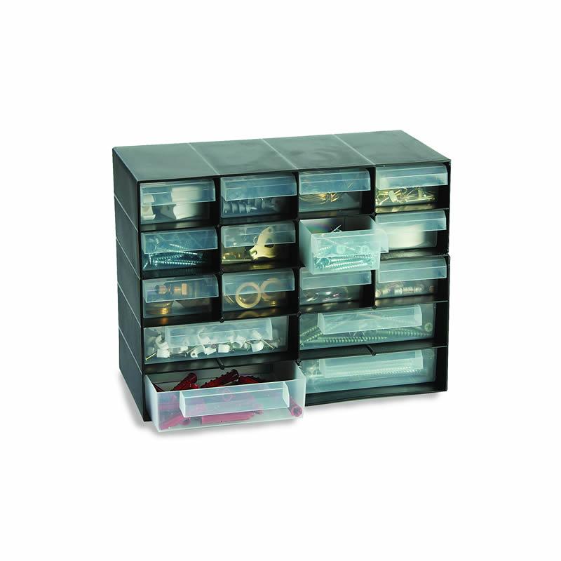 Multi-Drawer Storage Unit - 16 Drawers