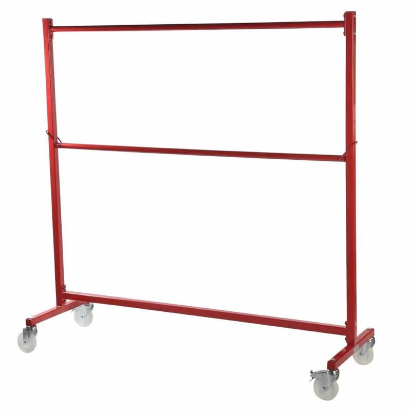Nestable Garment Rail - Red