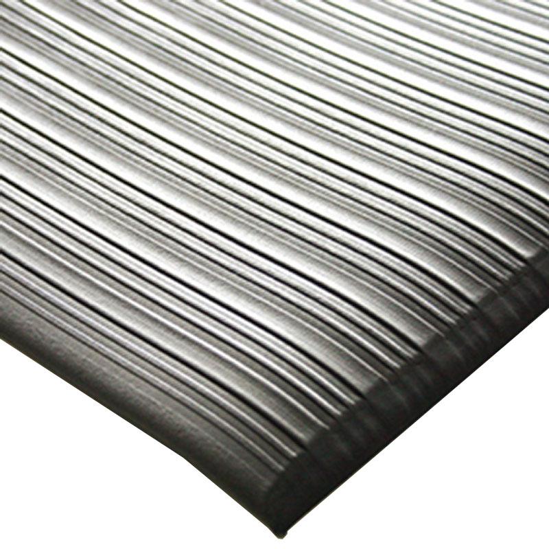 Orthomat Ribbed - Black - 1.2m x 18.3m