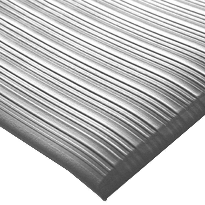 Orthomat Ribbed - Grey - 1.2m x 18.3m