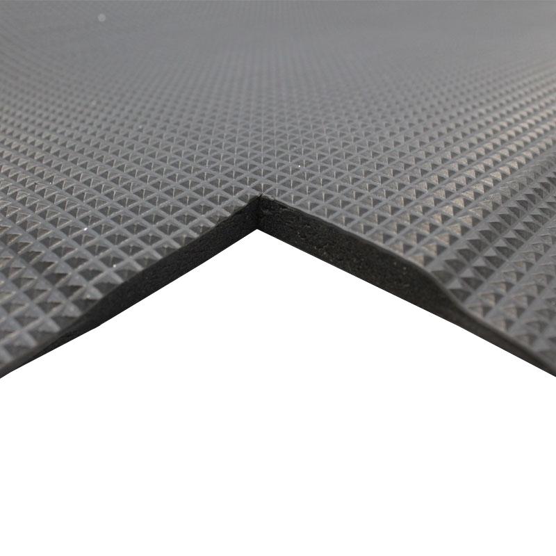 Orthomat Ultimate Anti-Fatigue Mat - Black -  0.9m x 18.3m