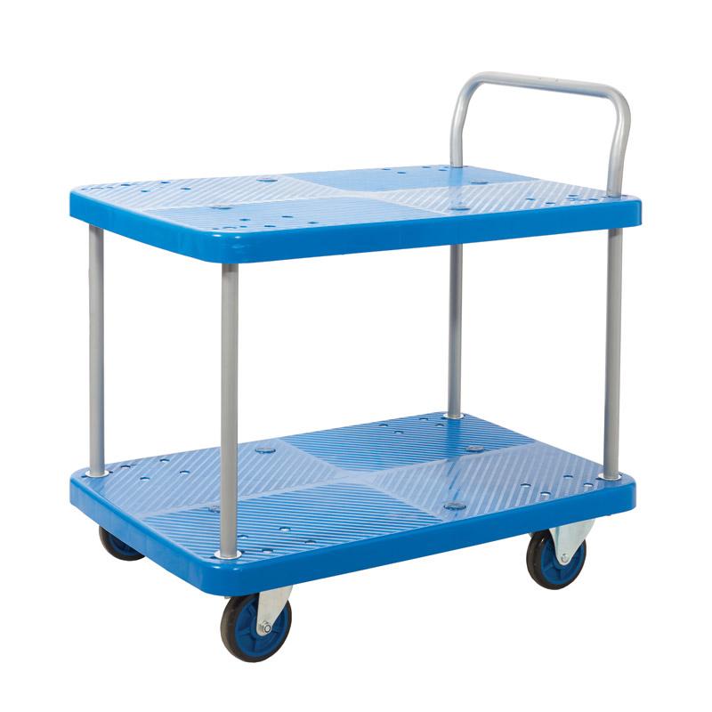 Proplaz Blue - Two Tier Trolley